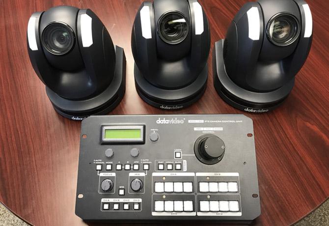 آموزش استریم و کنترل کردن دوربین های PTZ