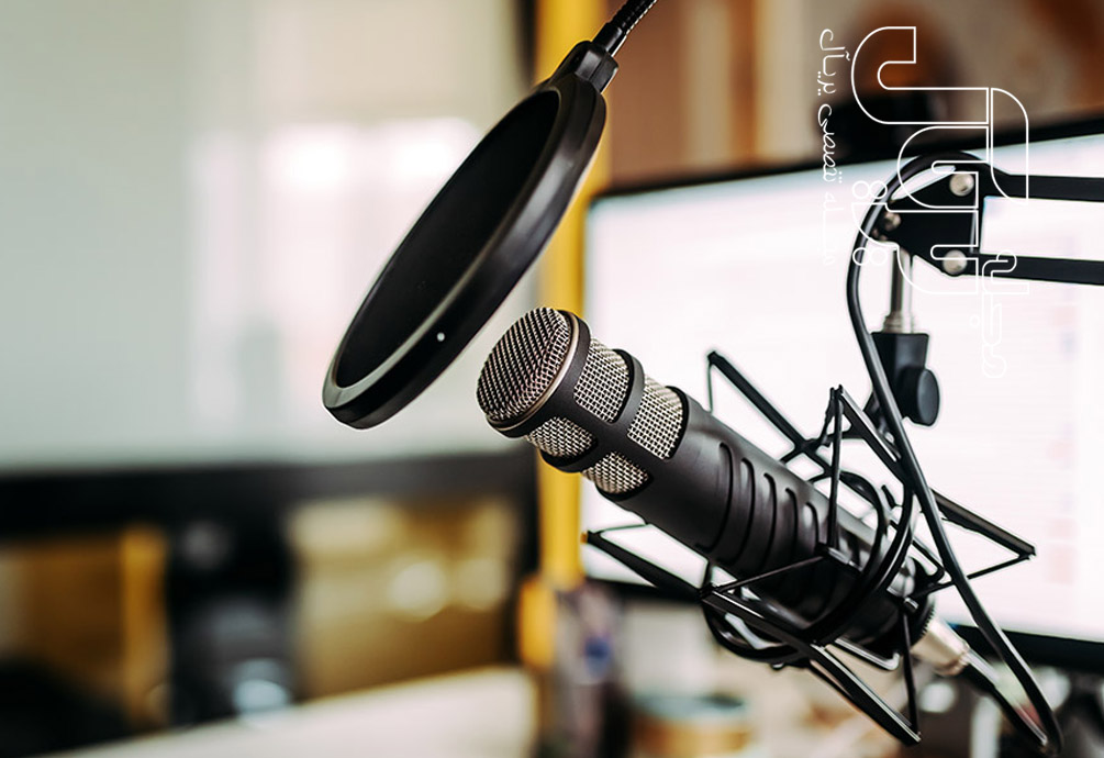 podcast with rode mics