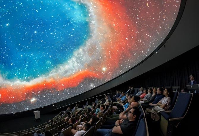 Fulldome cinema