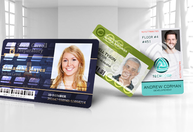 کارت های PVC Magicard