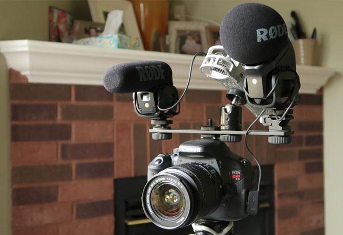 میکروفون های دوربین