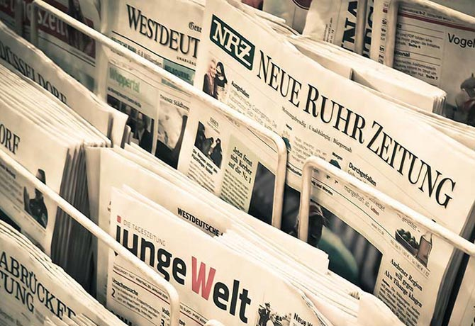 How to compile a news text