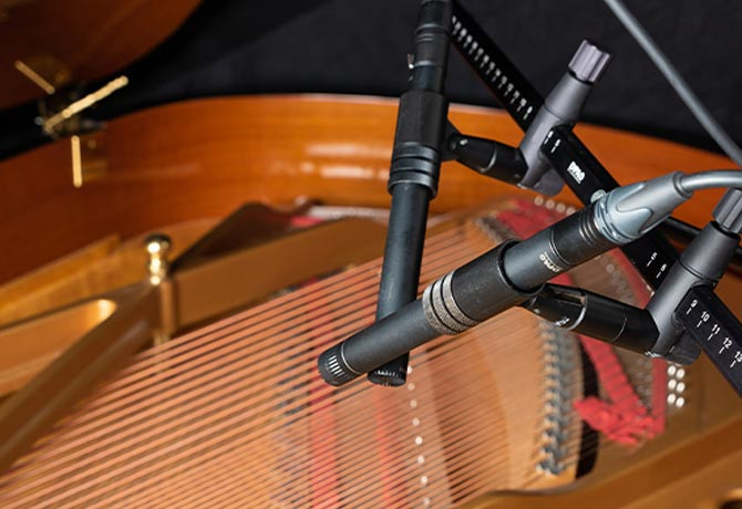 Microphones produce a mono or stereo signal