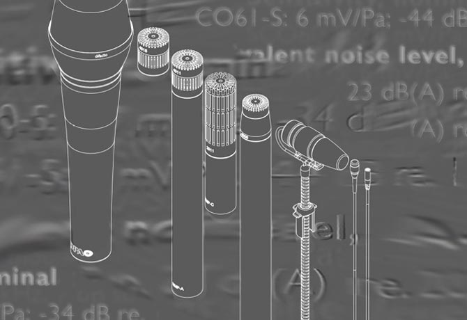 How to read the specifications of microphones - Part One