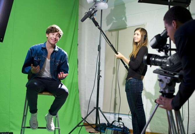 Three stages of video production